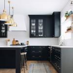 Design inspo: Beautiful black kitchens