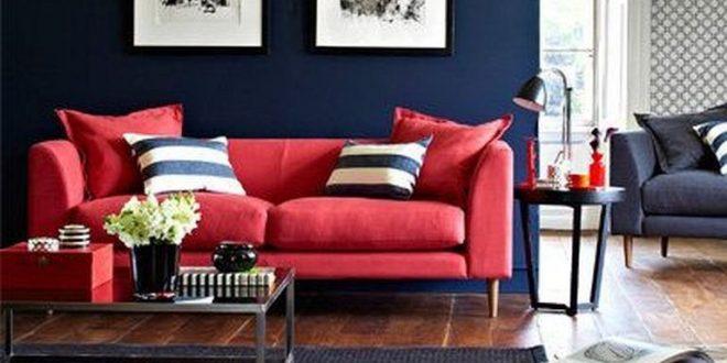 20 Cozy Modern Red Sofa Design Ideas For Living Room Dreamhomepop Com Home