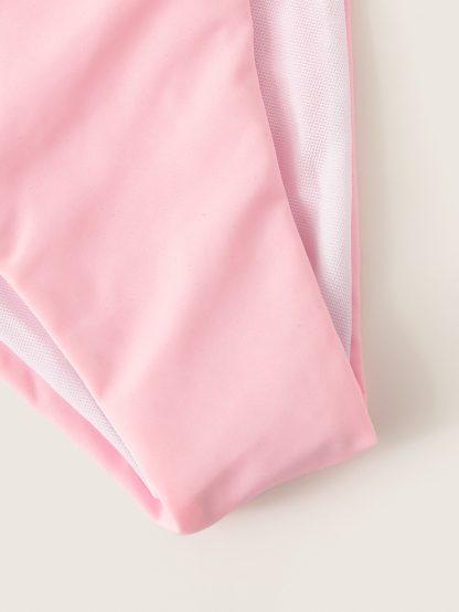 Triangle Top With Tie Side Tanga Bikini Set