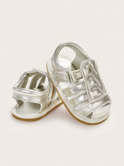 Baby Girls Metallic Slingback Sandals